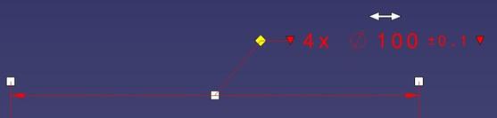FTA GD&T move dimension leader2