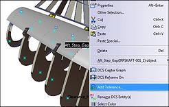 Quickly Add Tolerances 3DCS