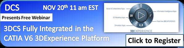 Free Webinar on 3DCS for CATIA V6