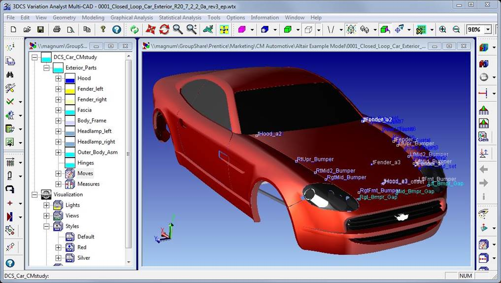 DCS and MSC Software Partner to Deliver Variation Analysis with Seamless Finite Element Analysis
