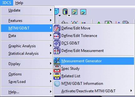 Measure Generator in CATIA V5