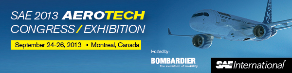 DCS and InspectionXpert Showcase Solutions at SAE 2013 AeroTech Congress & Exhibition