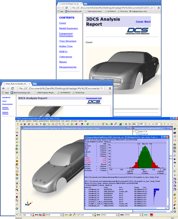 Create Fantastic Reports and Presentations with 3DCS!