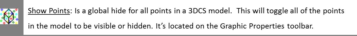hide show points 3dcs