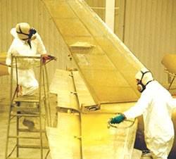 painting aircraft