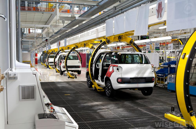 van assembly line