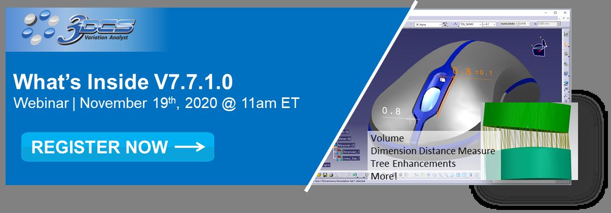 Webinar - What's Inside 3DCS V7.7.1.0