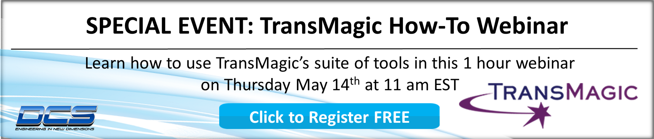 DCS and TransMagic Webinar