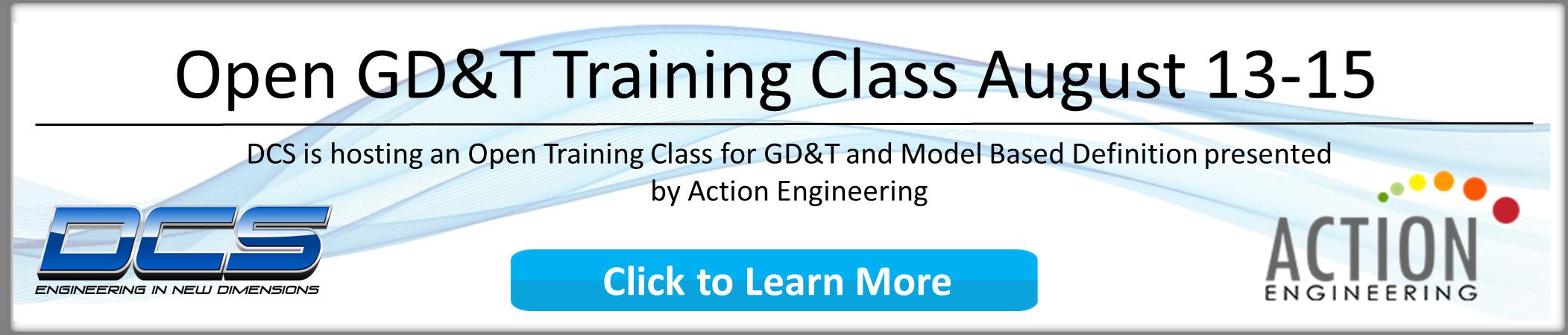GDandT Training Class - Register