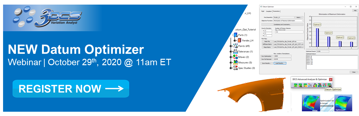 Upcoming Datum Optimizer Webinar