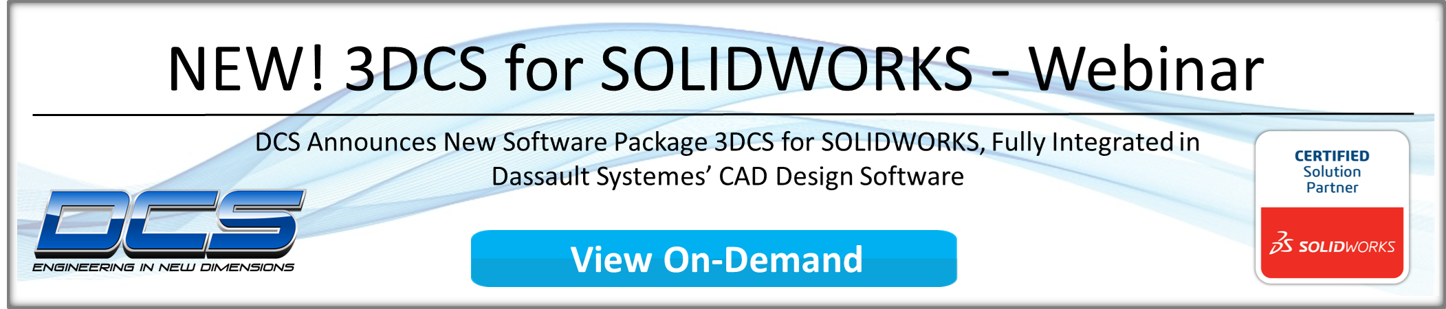 3DCS for SOLIDWORKS On-Demand