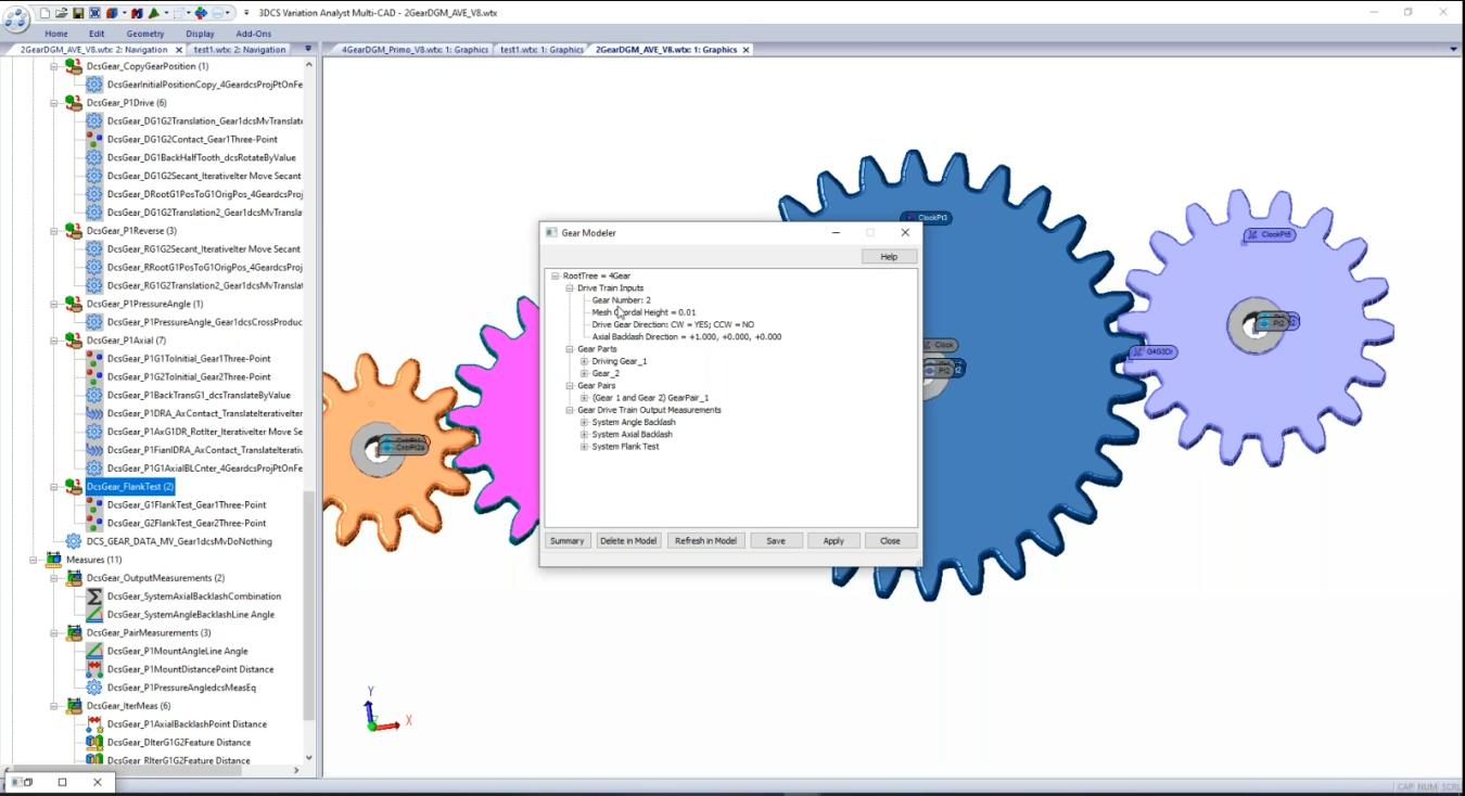 Gear Module for Mechanical Modeler Add-on