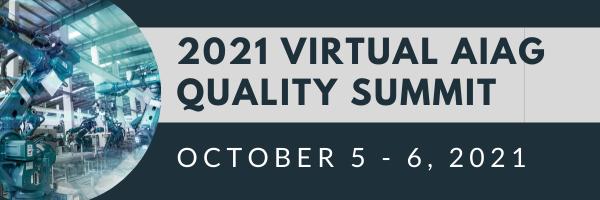 AIAG Quality Summit 2021