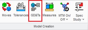 3DCS Creo GD&T Tool