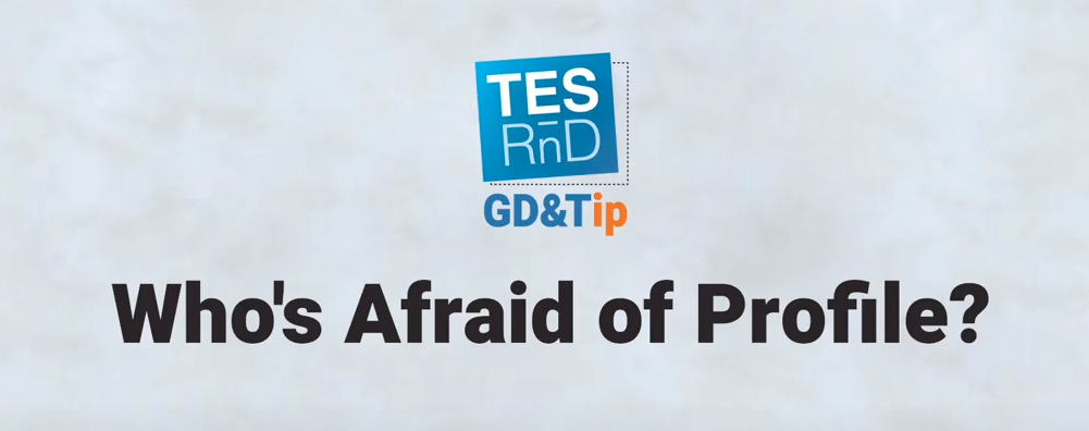 Who is afraid of Profile GD&T? TES RnD