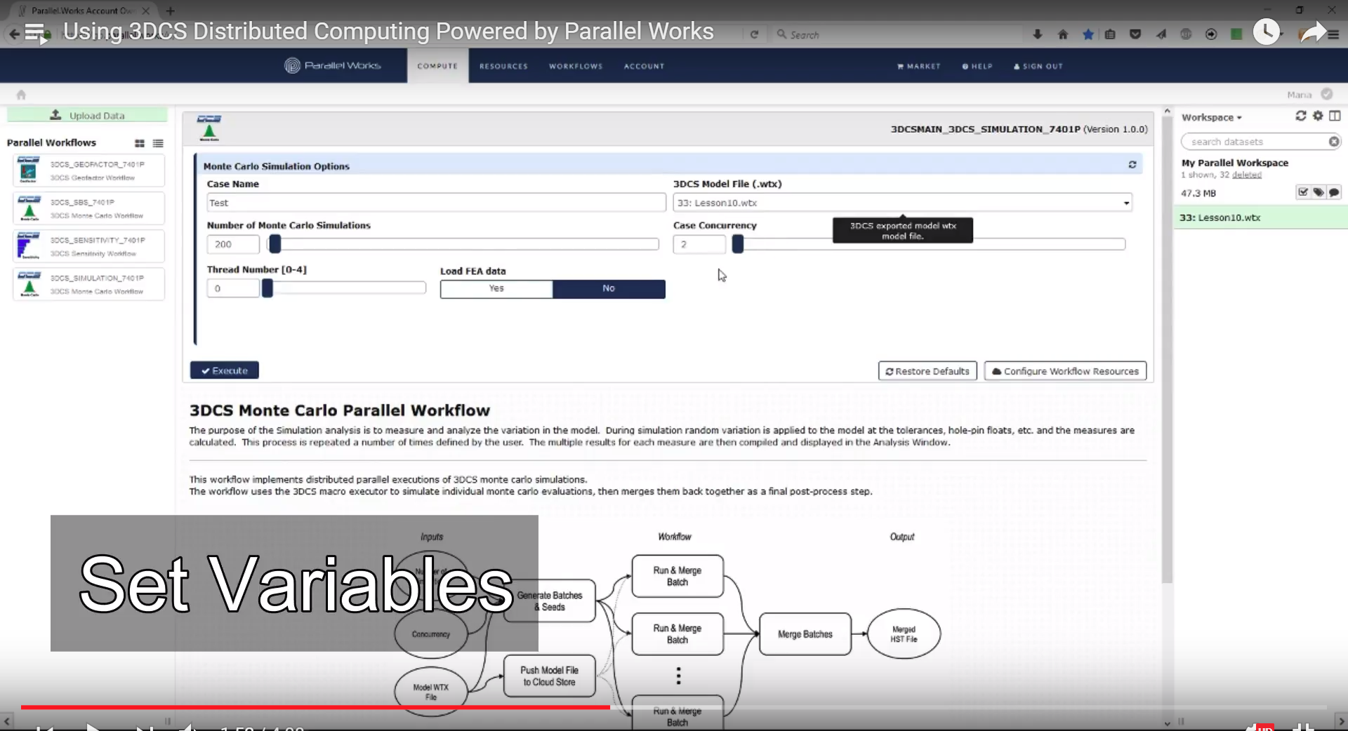 Distributed Computing Powered by Parallel Works