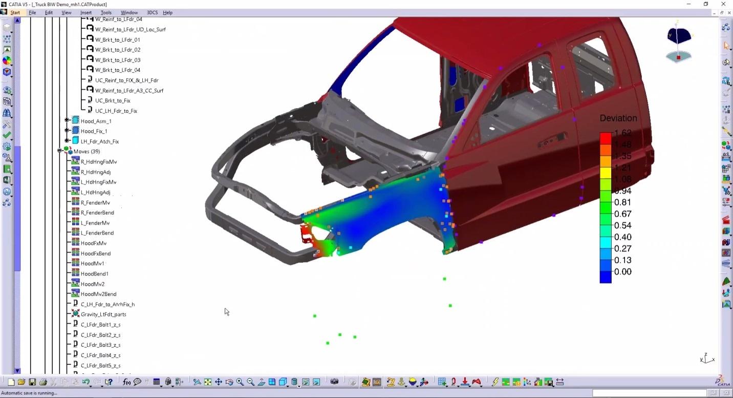 3DCS with FEA Analysis - Compliant Modeler