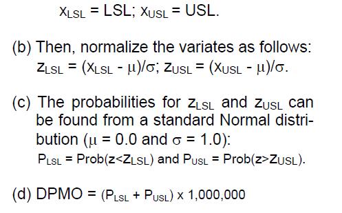 DPMO Calculation in 3DCS