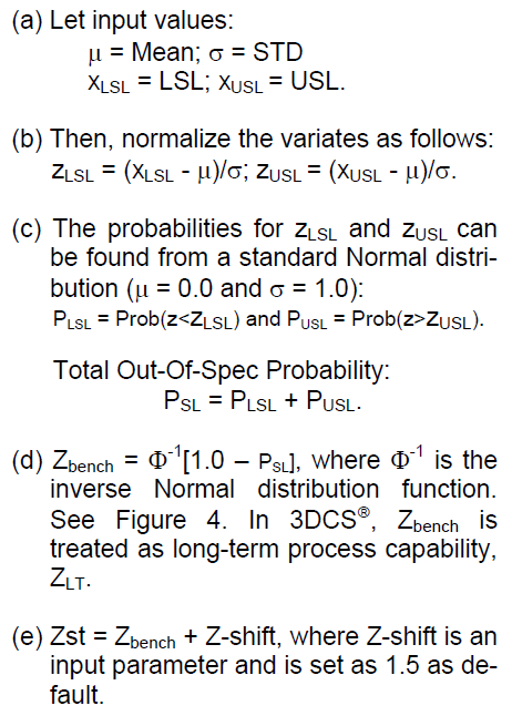 DPMO - Inputs to calculate Zst