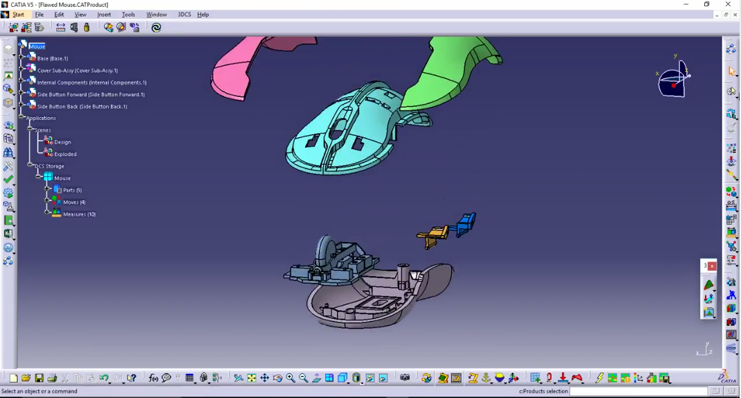 mouse-assembly-exploded-view
