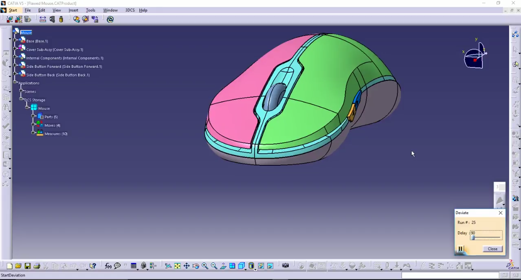Tolerance Analysis on Mouse Components