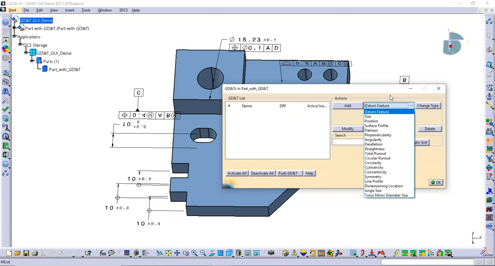 Add GD&T to Your CAD Model