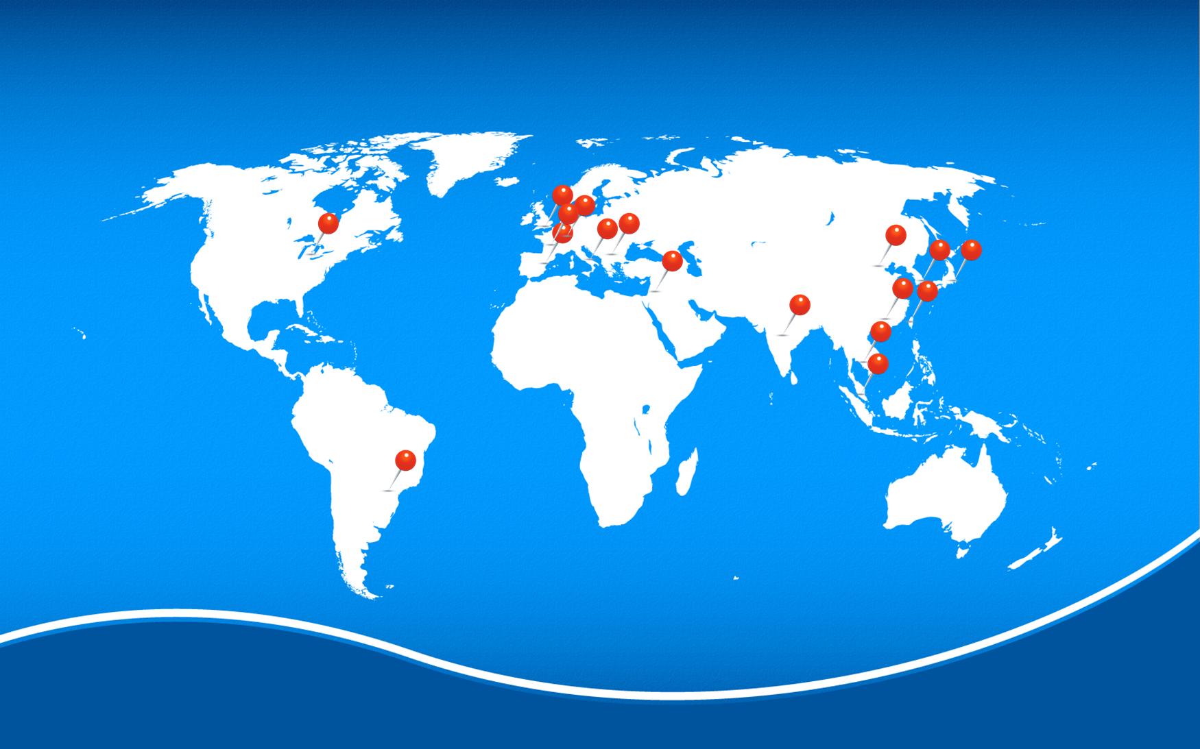 DCS - partners across the world