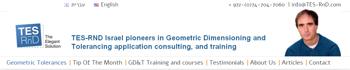 TES-Rnd - leading geometric dimensioning and tolerancing experts