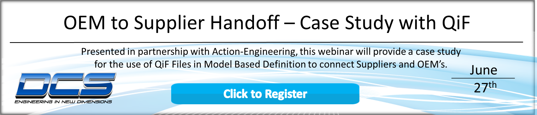 Webinar - Action Engineering and QiF