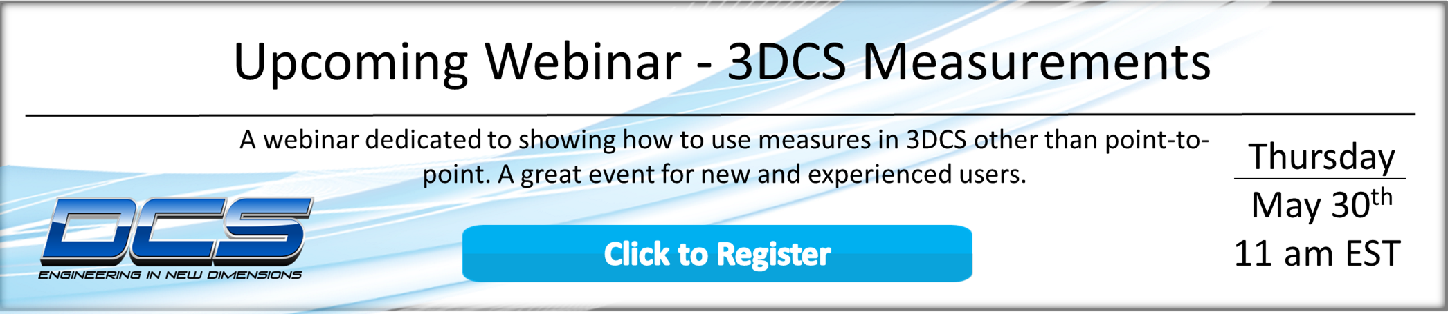 Click to Register for the Measurements Webinar