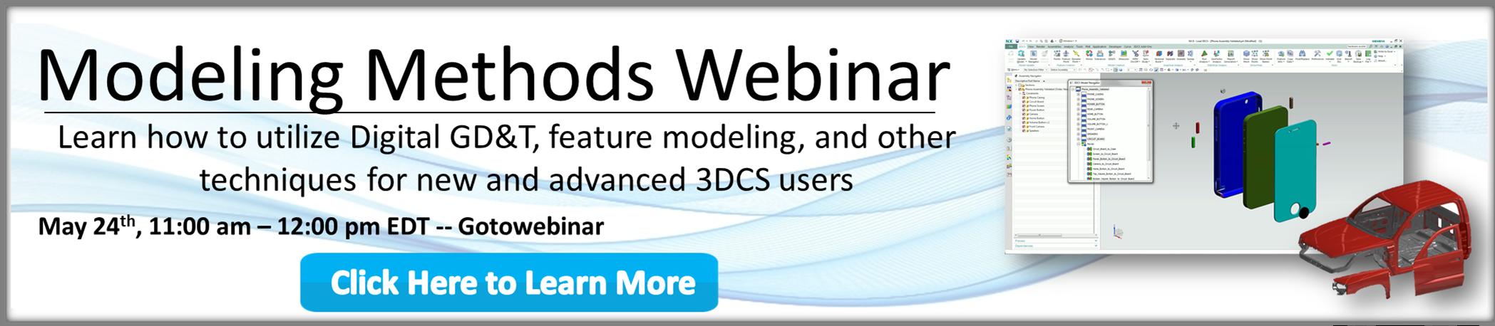 Modeling Methods Webinar