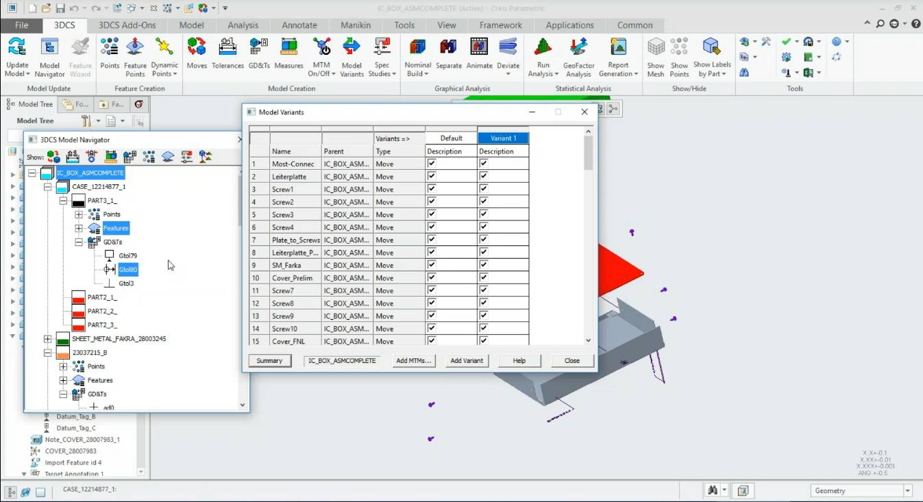 Webinar March 28th -3DCS V7.6 Overview -- Model Variants and New Features