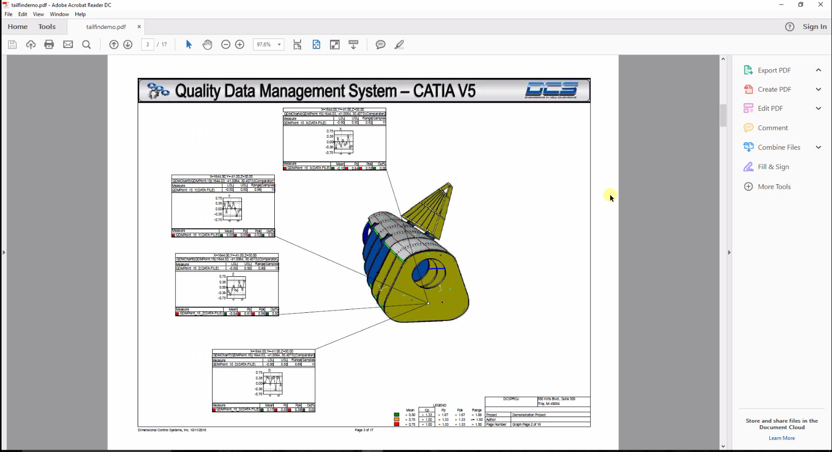 Automate Measurement Plans from CATIA Data with 3DCS Inspection Planner