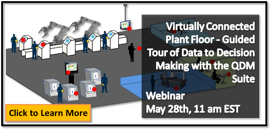 Upcoming Webinar: Manufacturing Plant Continuous Improvement (SPC)