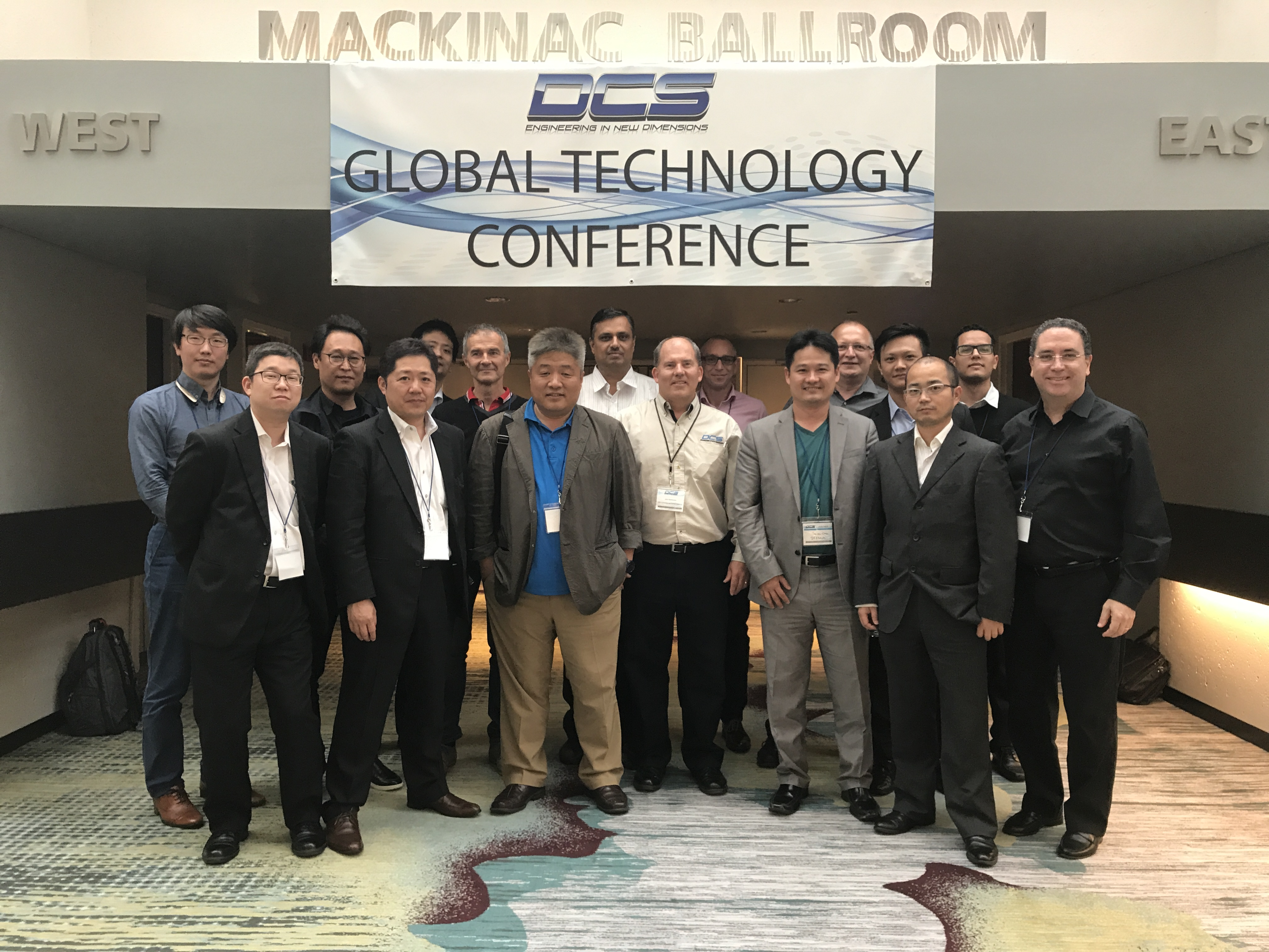 DCS Partners Come From Across the Globe - DCS Conference