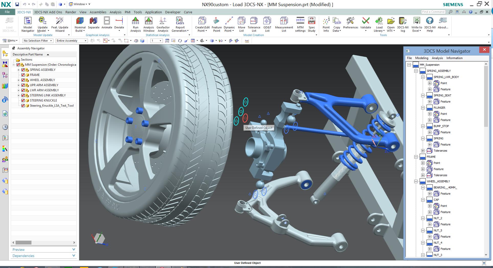 3DCS for NX Webinar: 3DCS Mechanical Modeler and Degree of Freedom Counter